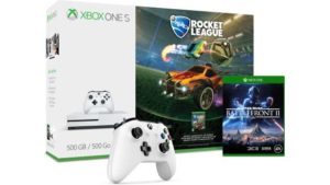 Xbox One S 500GB + Star Wars Battlefront II and extra Controller – Only £229.99 Image